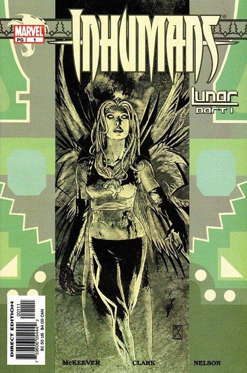 Inhumans Vol. 1 – 4 + Extras