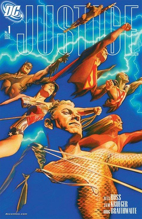 Justice #1 – 12 (2005)