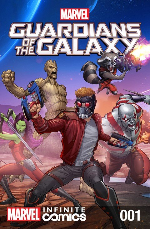 Marvel Universe Guardians of the Galaxy Infinite Comics #1