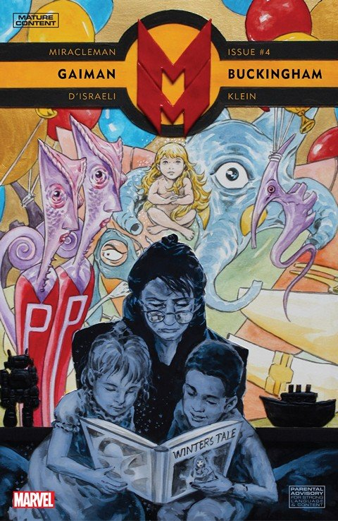 Miracleman by Gaiman & Buckingham #4