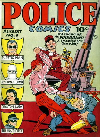 Police Comics #1 – 127 (1941-1953)