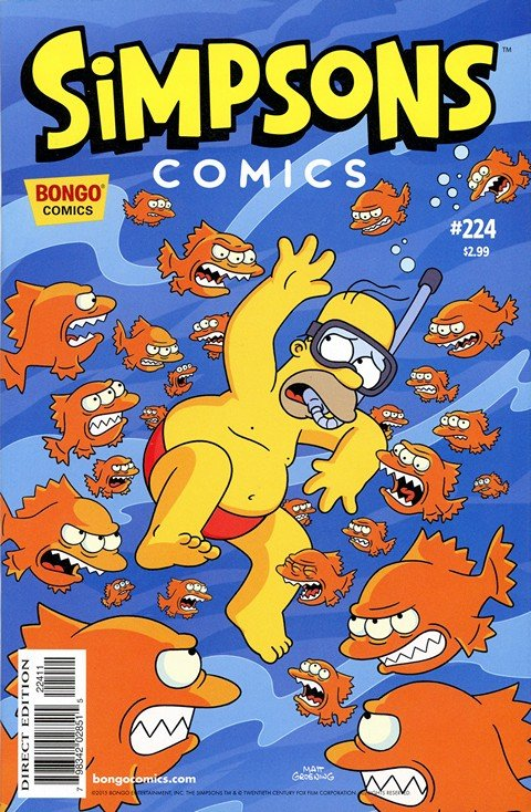 Simpsons Comics #224