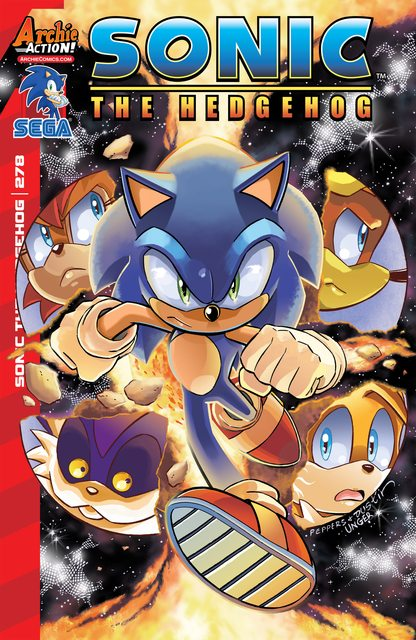 Sonic The Hedgehog #278