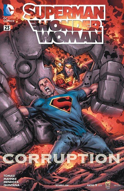 Superman-Wonder Woman #23
