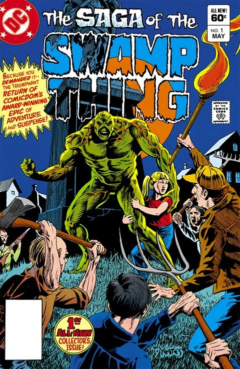 Swamp Thing Vol. 2 #1 – 171 + Annuals (1982-1995)