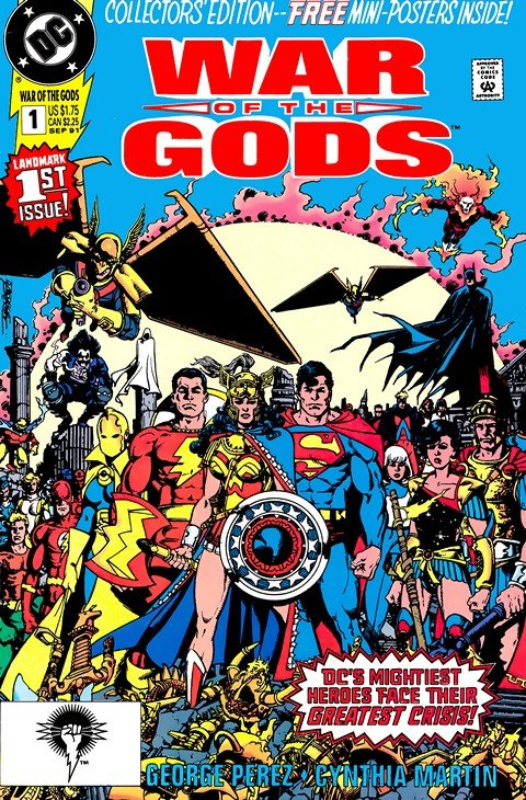 War of the Gods #1 – 4