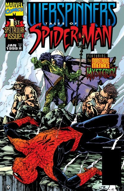 Webspinners – Tales of Spider-Man #1 – 18 (1999-2000)