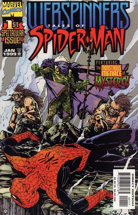 Webspinners – Tales of Spider-Man #1 – 18