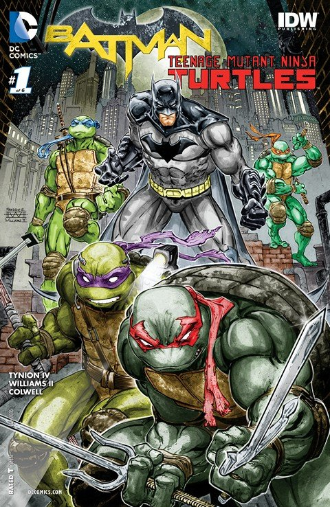 Batman-Teenage Mutant Ninja Turtles #1