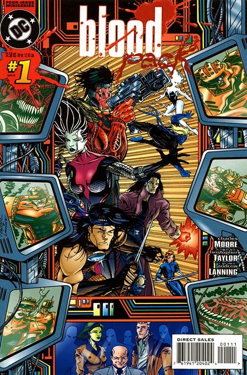 Blood Pack #1 – 4 (1995)