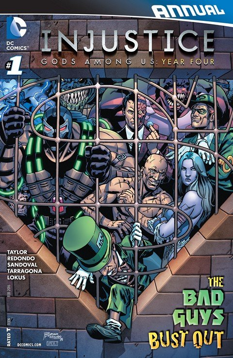 Injustice Gods Among Us Year Four Annual 1 Getcomics