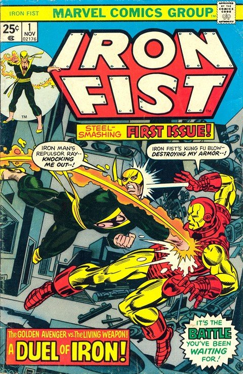 Iron Fist Vol. 1 – 4