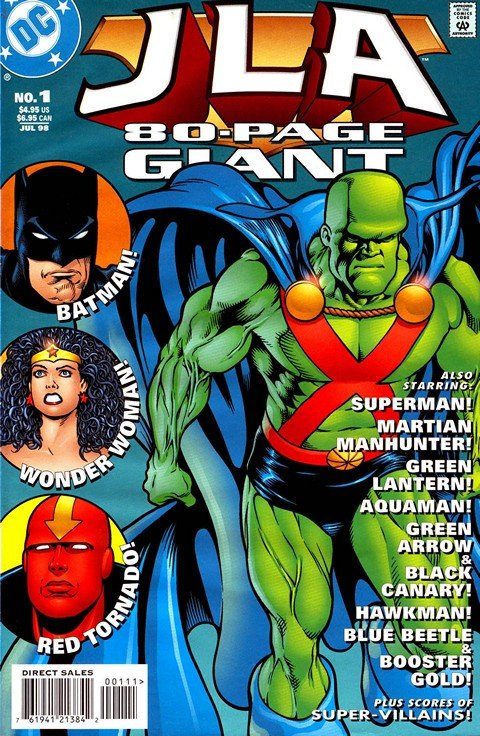 JLA 80 Page Giant #1 – 3