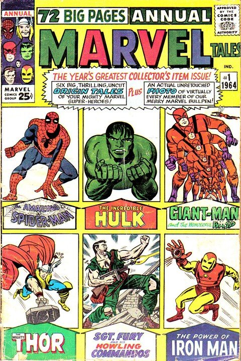 Marvel Tales Vol. 2 #1 – 291 (1964-1994)