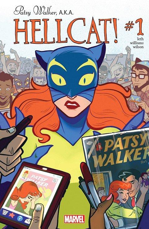 Patsy Walker, A.K.A. Hellcat! #1