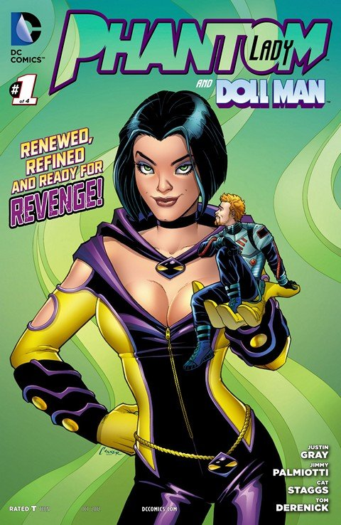 Phantom Lady and Doll Man #1 – 4