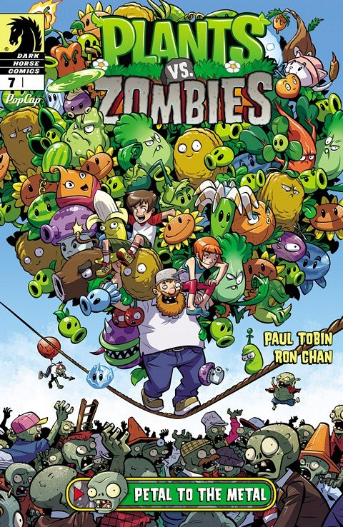 Plants vs. Zombies #7 – Petal to the Metal #1