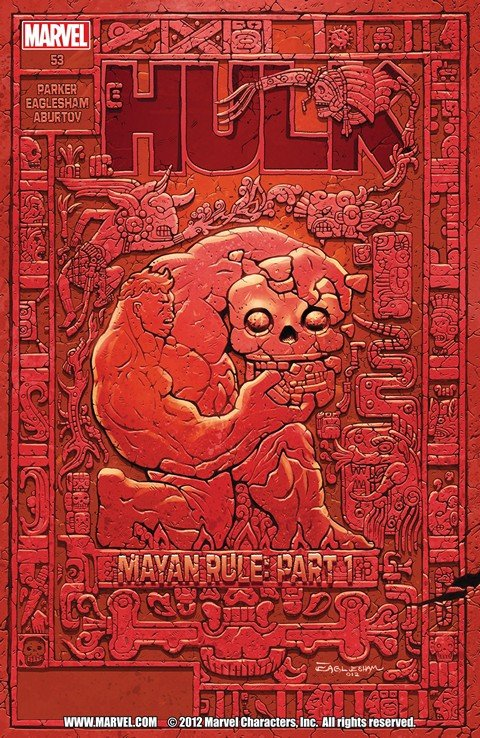 Red Hulk – Mayan Rule #1 – 5