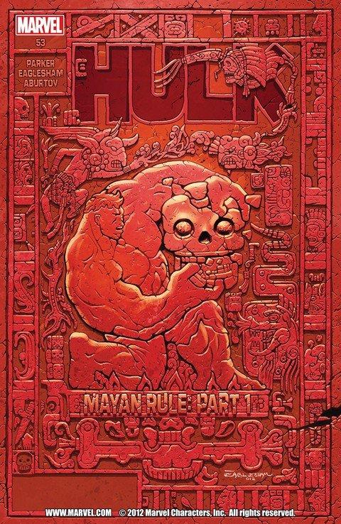 Red Hulk – Mayan Rule #1 – 5