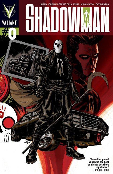 Shadowman #0 – 16 + End Times #1 – 3 + TPB Vol. 1 – 4 (2012-2014)
