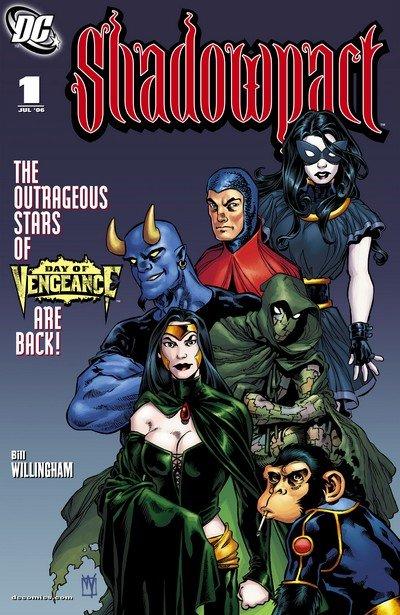 Shadowpact #1 – 25 (2006-2008)