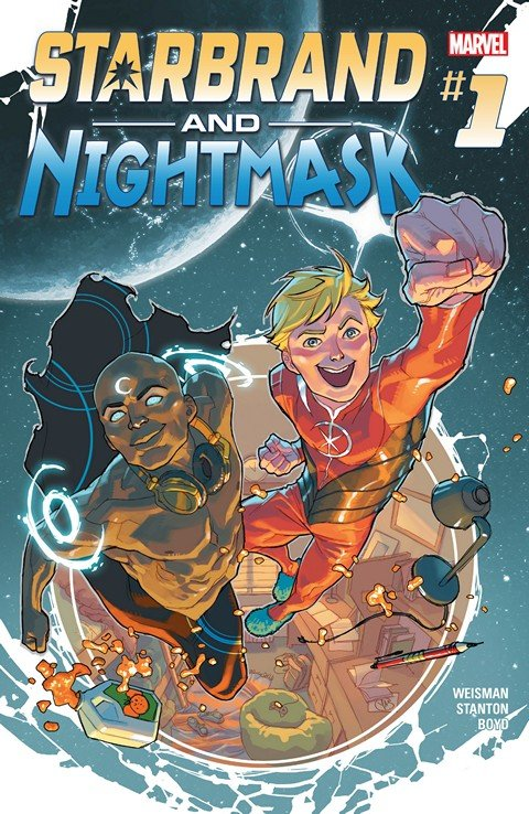Starbrand and Nightmask #1 – 6 (2016)