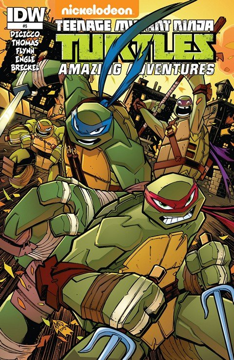 Teenage Mutant Ninja Turtles – Amazing Adventures #5