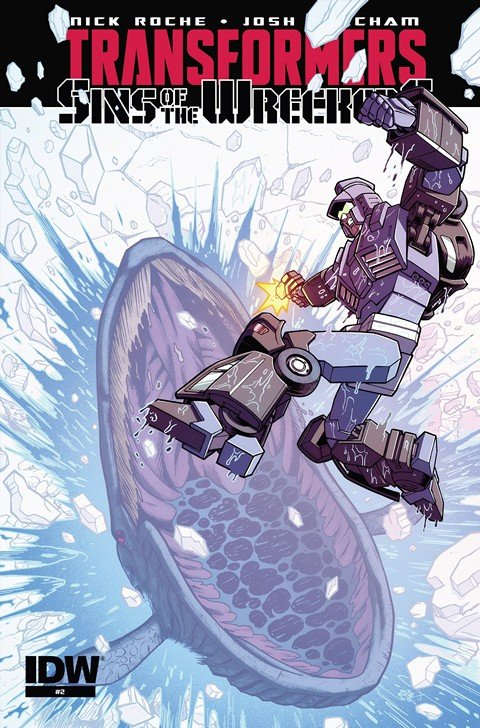 The Transformers – Sins of the Wreckers #2