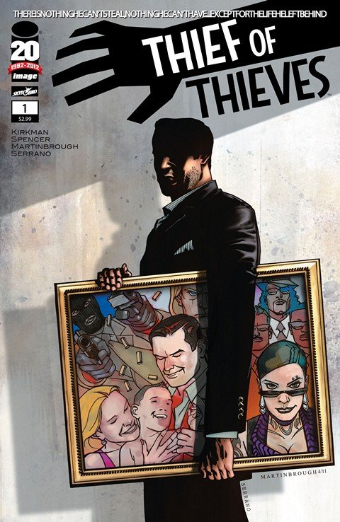 Thief of Thieves #1 – 37 + TPB Vol. 1 – 4 (2012-2016)