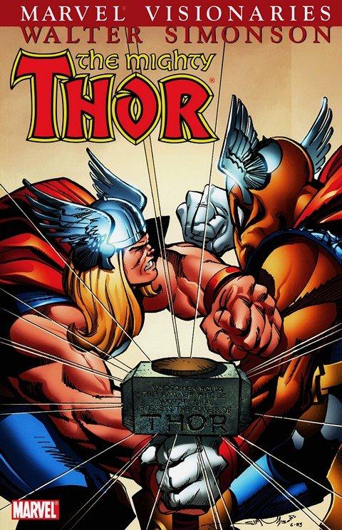 Thor Visionaries – Walter Simonson Vol. 1 – 5 (TPB) (2007-2009)