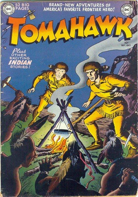 Tomahawk #1 – 140 (1950-1972)