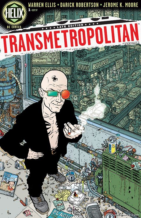 Transmetropolitan Vol. 1 #1 – 60 (1997-2002)