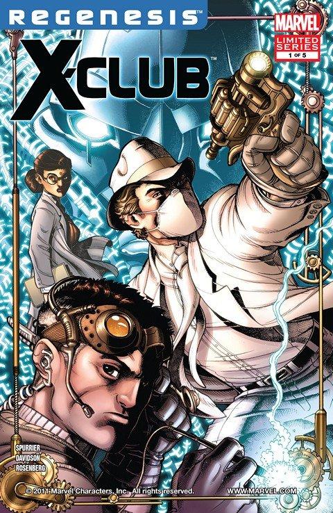 X-Club #1 – 5