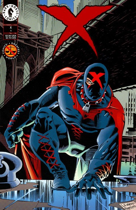 X Vol. 1 #1 – 25 (1994-1996) (Dark Horse)