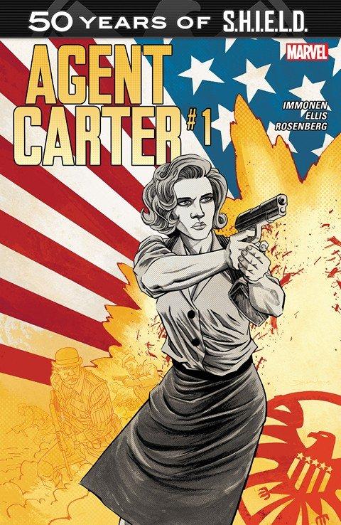 Agent Carter – S.H.I.E.L.D. 50th Anniversary #1