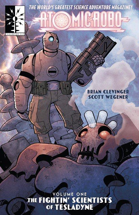 Atomic Robo Vol. 1 – 13 (TPB) (2015-2020)