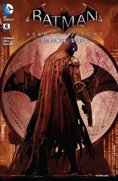Batman – Arkham Knight – Genesis #1 – 6