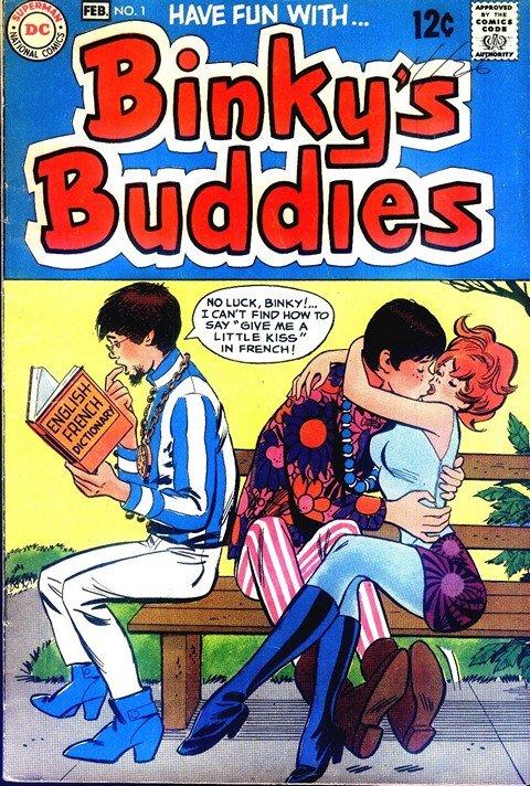 Binky's Buddies #1 – 12 (1969-1970)