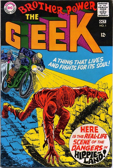Brother Power The Geek #1 – 2
