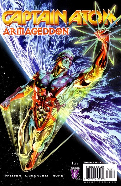 Captain Atom – Armageddon #1 – 9