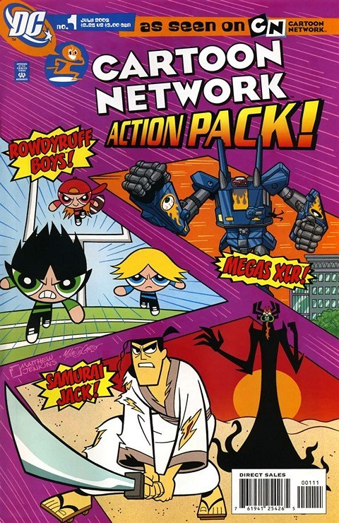 Cartoon Network Action Pack #1 – 67 (2006-2012)