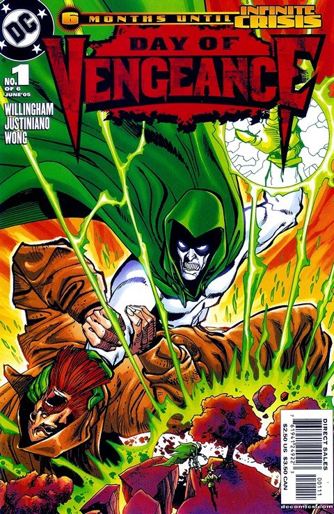 Day of Vengeance #1 – 6 + Infinite Crisis Special