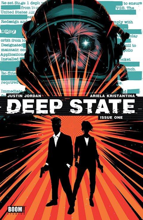 Deep State #1 – 8 + TPB Vol. 1 – 2 (2014-2015)