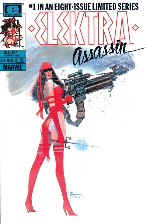 Elektra – Assassin #1 – 8