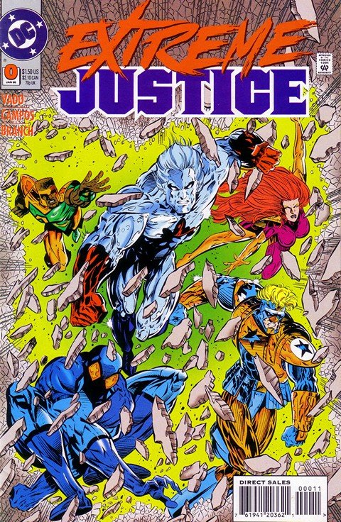 Extreme Justice #0 – 18