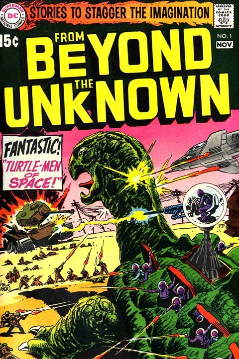 From Beyond the Unknown #1 – 25