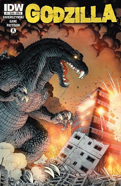 Godzilla #1 – 13 (2012-2013)