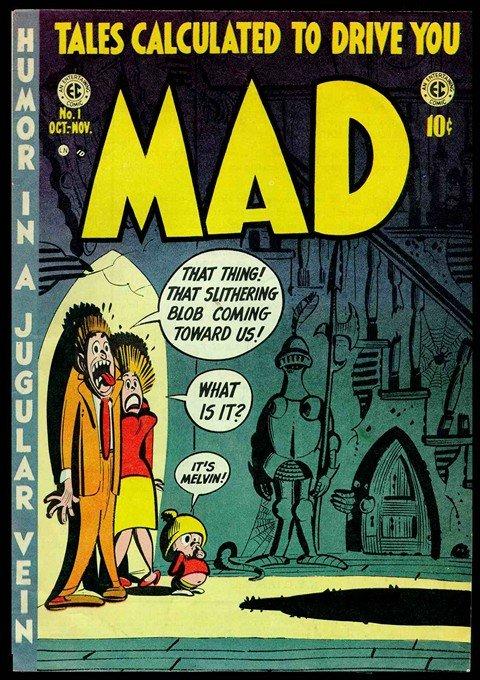 Mad Magazine #1 – 537 (1952-2016)