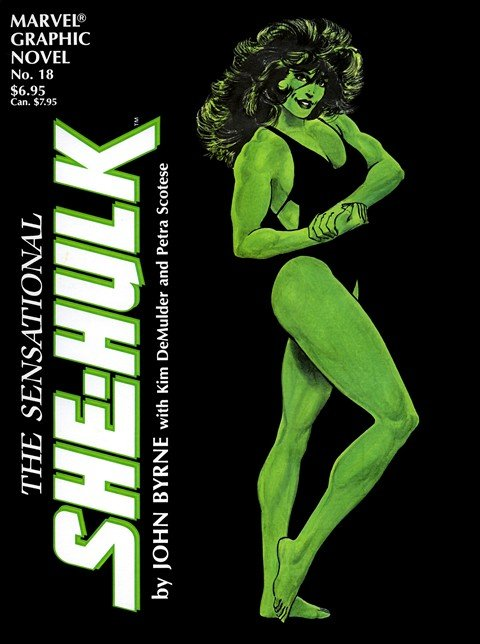 Marvel Graphic Novel #18 – The Sensational She-Hulk