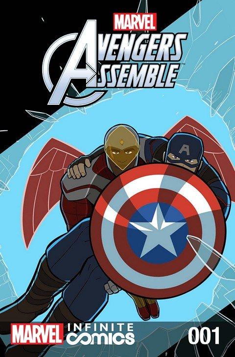 Marvel Universe Avengers Assemble Infinite Comic #1